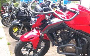 Fahrschule Oscar-Honda 500- Motorradführerschein beschränkte Klasse A2
